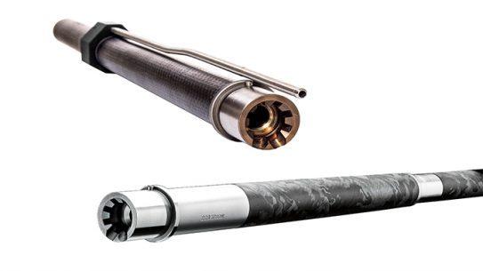 Carbon-Fiber-Wrapped Barrels Black Guns 2016 lead