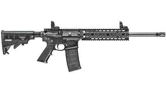 Smith & Wesson M&P15T Rifle Black Guns 2016 lead
