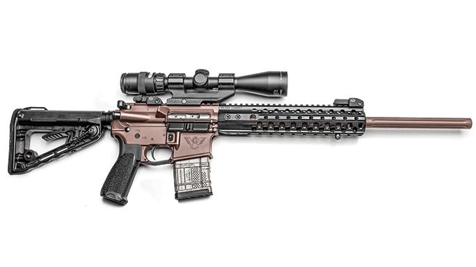 WILSON COMBAT SUPER SNIPER black guns 2016