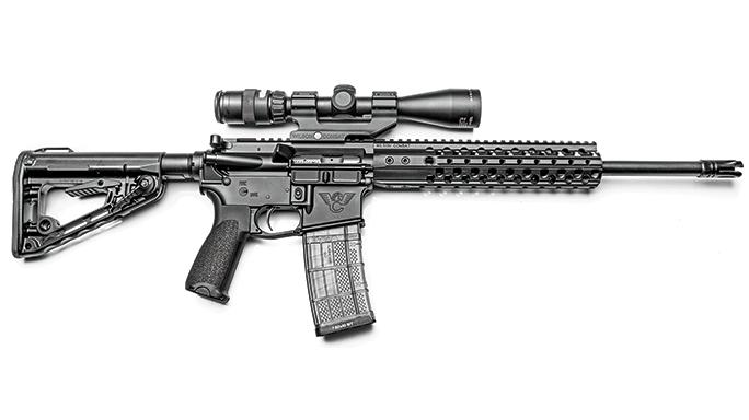 WILSON COMBAT RECON TACTICAL black guns 2016