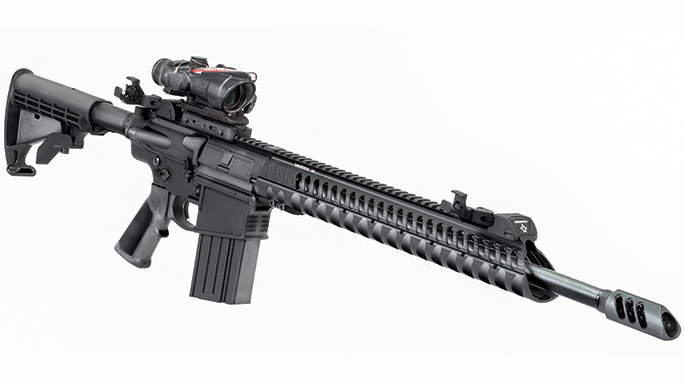 Black Guns 2016 Diamondhead D-45 Integrated Sighting System