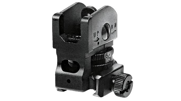 Black Guns 2016 UTG Mil-Spec Sub-Compact Rear Sight