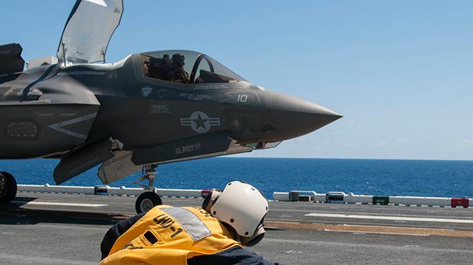 Marine F-35B Lightning II Initial Operational Capability