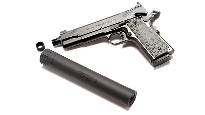 Gun Annual 2016 sound suppressors AAC Ti-RANT 45M