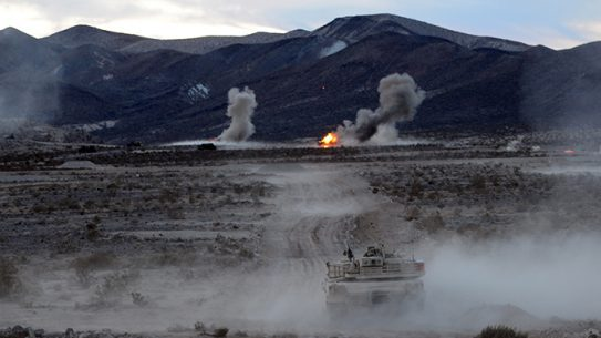 Joint Forcible Entry Exercise 2015 M1A1 tank