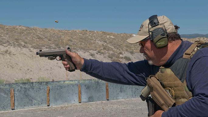 Kimber 1911 Warrior Pistols action