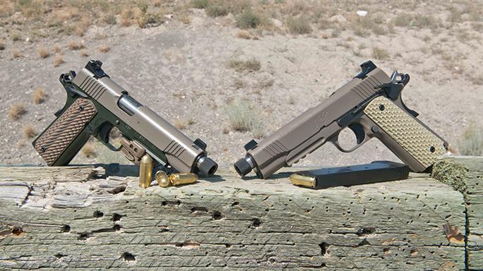 Kimber 1911 Warrior Pistols lead