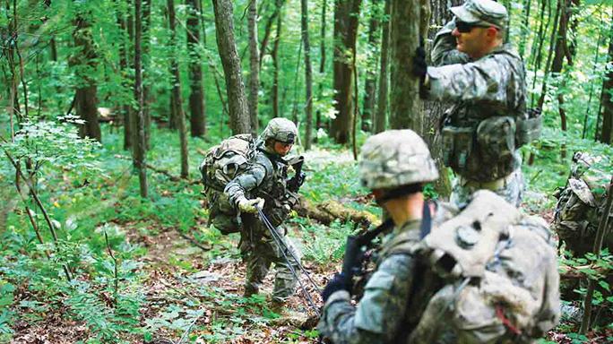 Ranger Course's Mountain Phase 2015