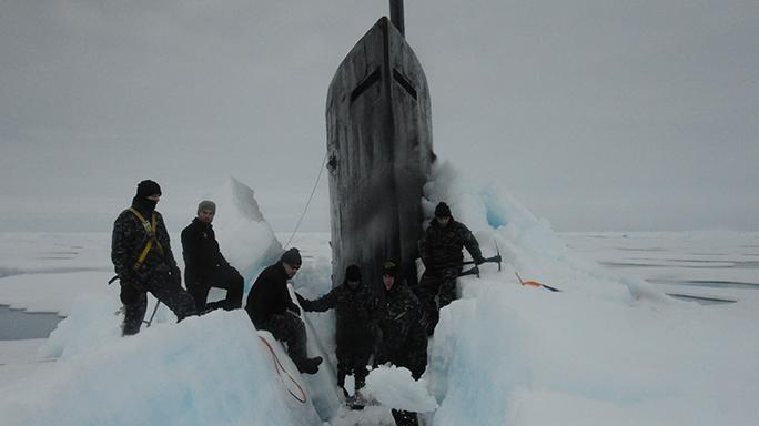 U.S. Navy USS Seawolf Submarine