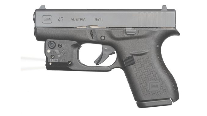 Viridian Taclight with RADIANCE For Glock 43