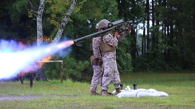 2nd Low Altitude Air Defense Battalion FIM-92 Stinger Missile