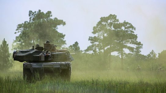 2nd Tank Battalion Marines Field Exercise 2015