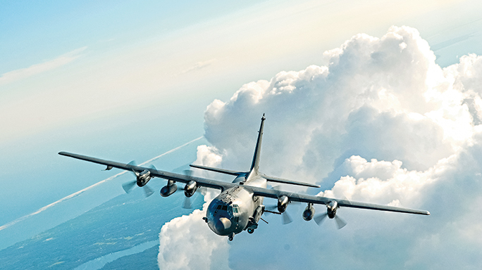 The AC-130 gunship is a vehicle that has been in operation since the Vietnam War.