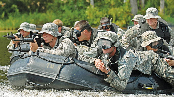 The Combat Rubber Raiding Crafts are lightweight and portable, allowing them to be easily delivered to other vehicles, such as helicopters, planes and boats.