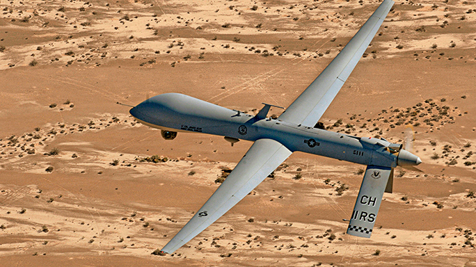 Drones proved to be useful in locating the terrorist.