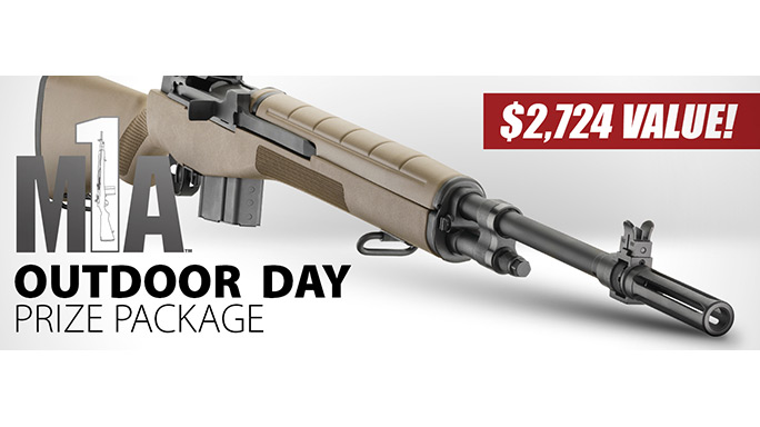 Outdoor Day: Springfield Giving Away M1A Rifle in Massive Prize Pack