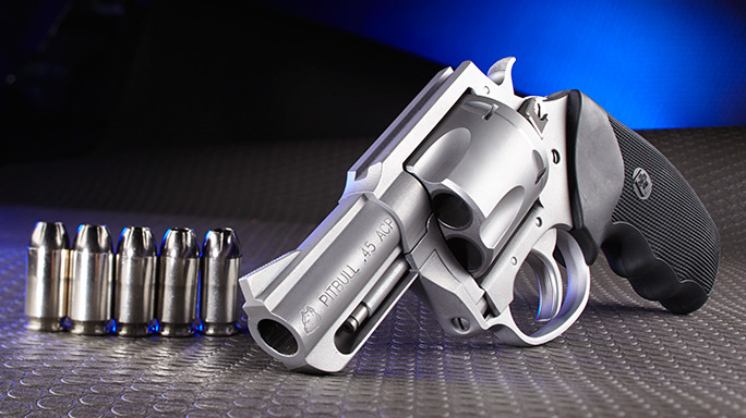 Charter Arms Pitbull .45 Revolver lead