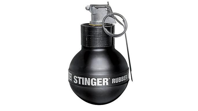 Riot Stoppers Less-Lethal GWLE 2015 Safariland Stinger Grenade