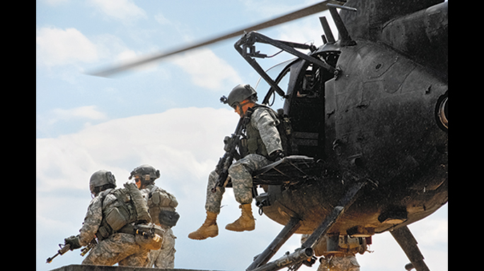 It is possible the SEALs were transported in an MH-6 Little Bird helicopter to take down the Somali terrorist group.