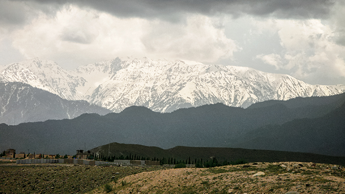 Operation Anaconda occurred in the mountain slopes of eastern Afghanistan.