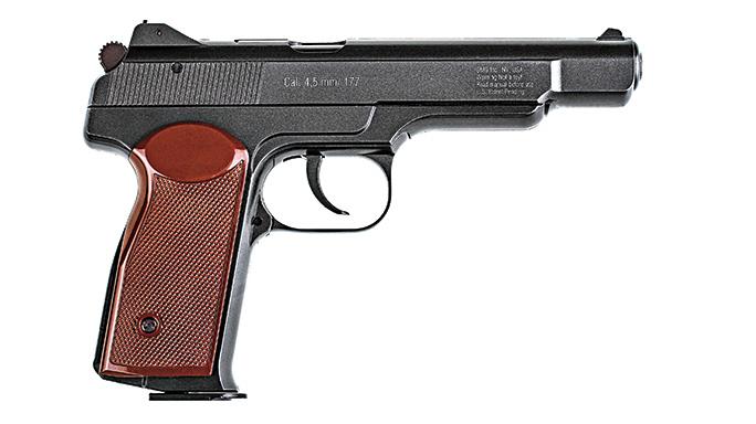 Gletcher Stetchkin APS Cold War air pistol