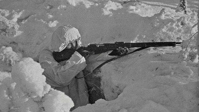 Mosin-Nagant M/28-30 field