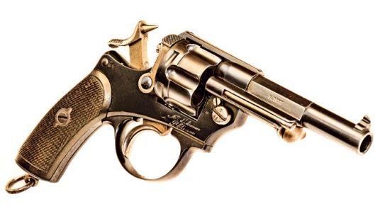 Chamelot-Delvigne revolver lead