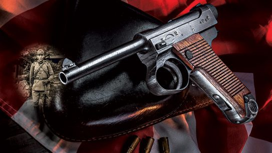 Japanese Nambu Pistol MS 2016 lead