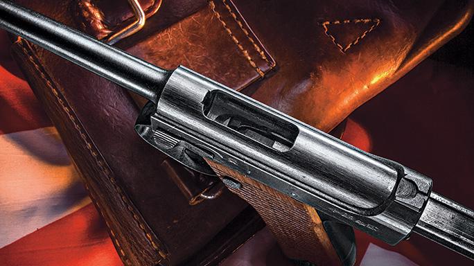 Japanese Nambu Pistol MS 2016 top
