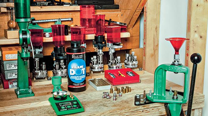 Webley Revolver Reload setup