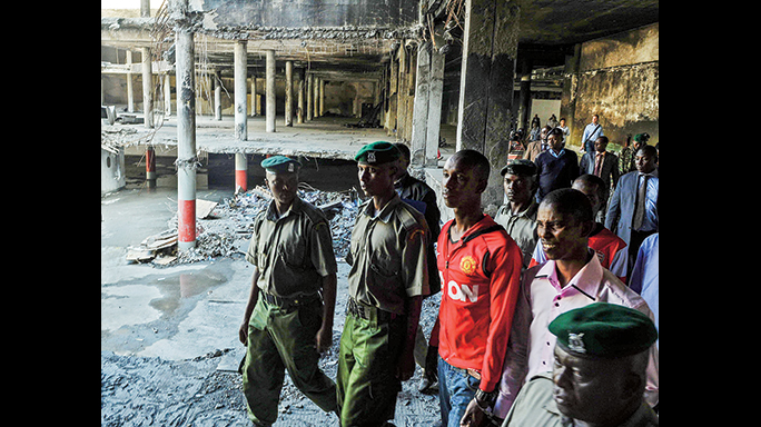 Abdikadar is at large, but these two men were charged for their involvement in the mass killing at Nairobi's Westgate Mall