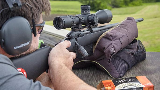 Savage Arms 10 FCP-SR Rifle field