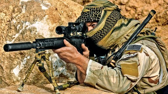 Sniper rifles played a huge role in how Operation Viking Hammer turned out.