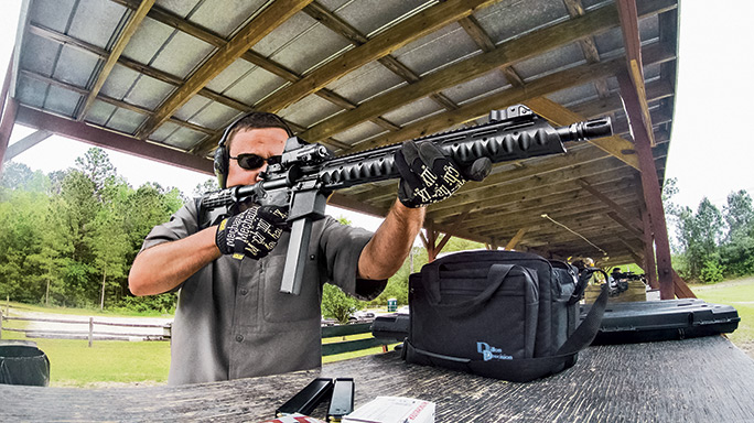 SWMP October Stag Arms Model 9T Rifle range