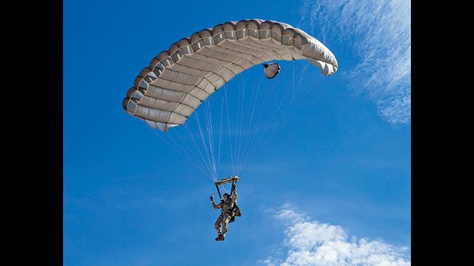 HALO Parachuting Ghosts parachute