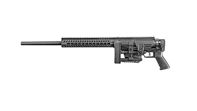 SWSO 15 Ruger Precision Rifle folded