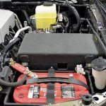 Texas Armoring engine compartment