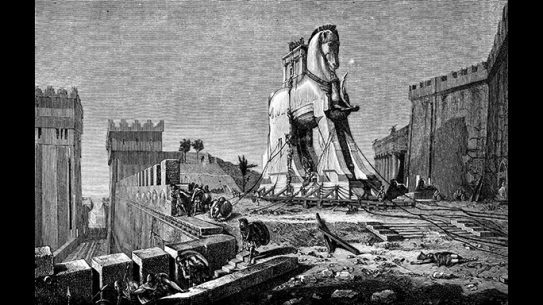 The story of the Trojan Horse has become so famous because of its success as a special ops mission.