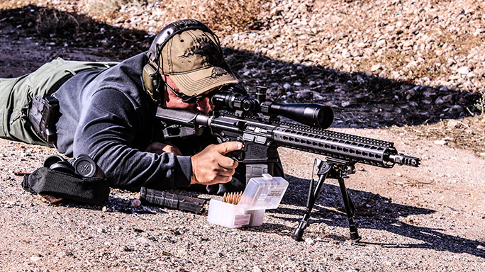Grey Ghost Specter Heavy Rifle range