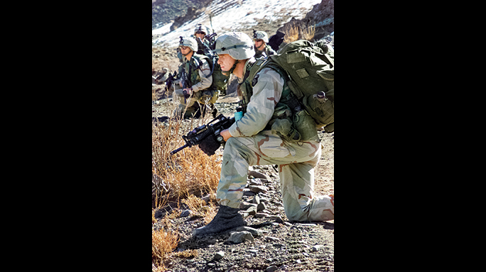 During Operation Anaconda, U.S. forces were constantly on watch.