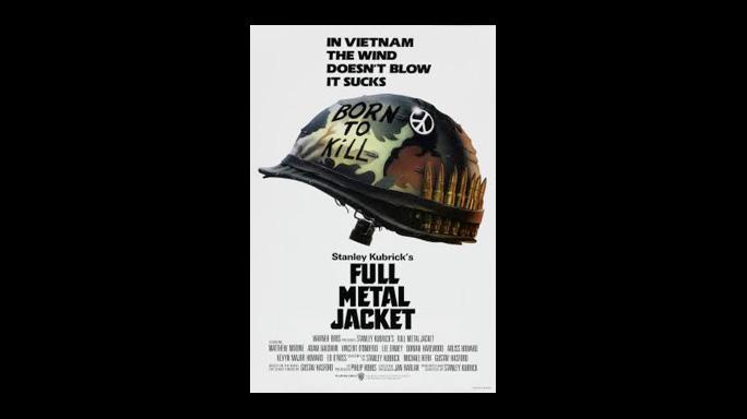 FULL METAL JACKET top 20 war movies