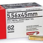 Aguila 62-grain 5.56mm FMJ