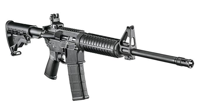 AR 2016 Ruger AR-556 Rifle lead