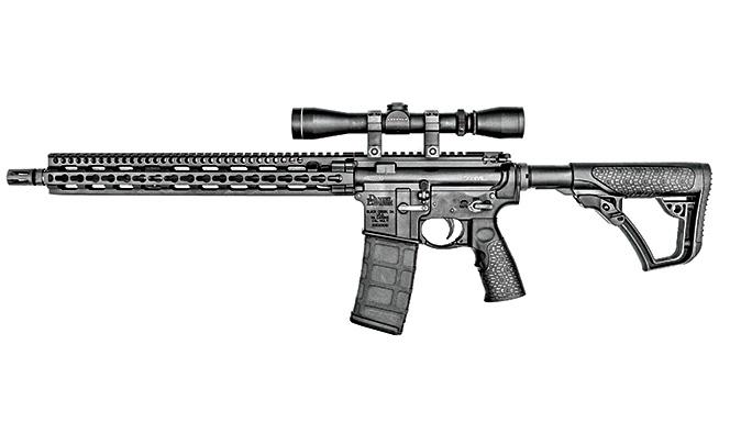 Test Daniel Defense DDM4V11LW Rifle left