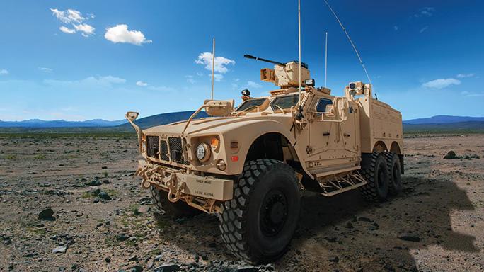 Oshkosh Defense M-ATV 6x6 Technology Demonstrator lead