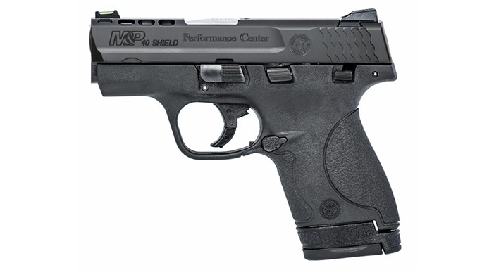 Smith wesson offering m p shield pistol in 9mm 40 s w for M p ported shield 9mm