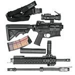 Test DRD Tactical CDR-15 Rifle parts