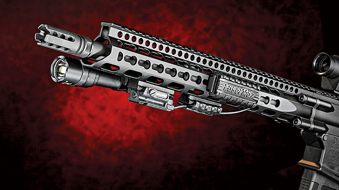 test Daniel Defense DD5V1 Rifle handguard