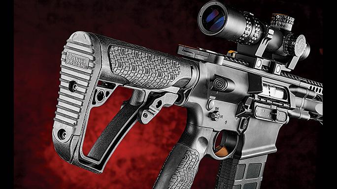 test Daniel Defense DD5V1 Rifle stock