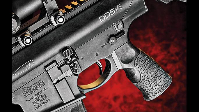 test Daniel Defense DD5V1 Rifle trigger